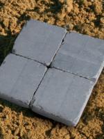 pavés en pierre bleue