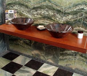 vasques posées et granit