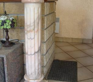 colonne en marbre