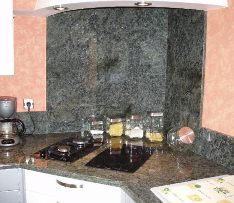granit vert tropical à REIMS (MARNE)