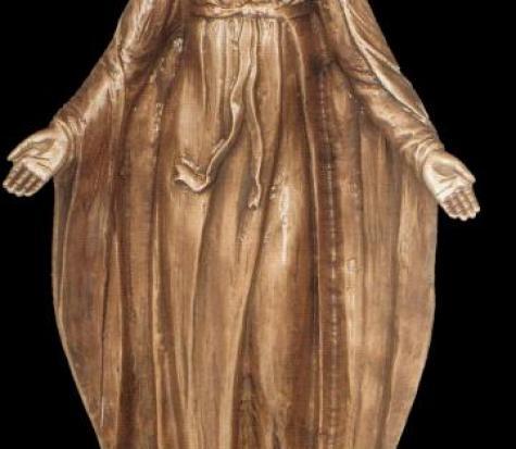 Vierge accueillante