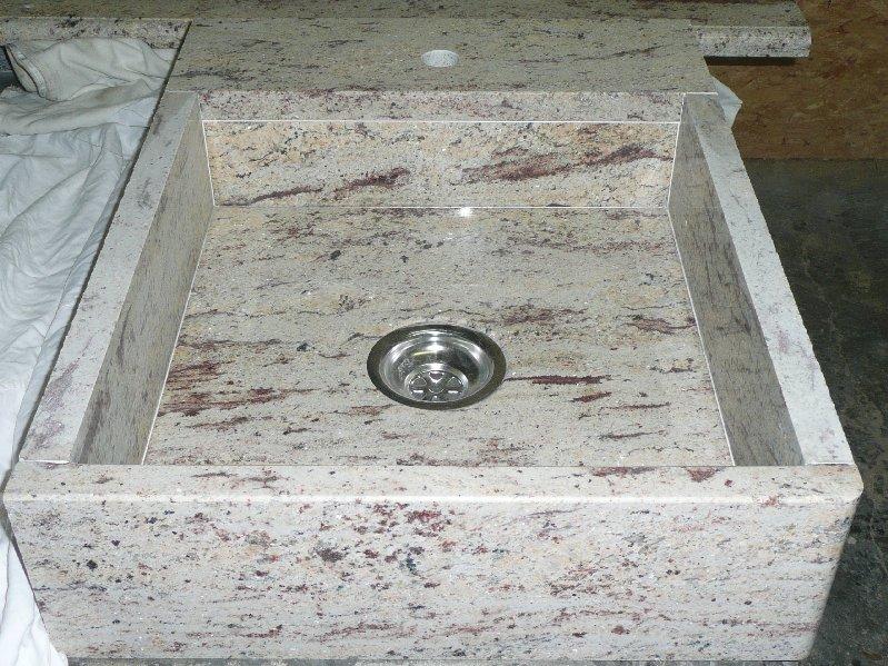 Cuisine marbrerie d coration int rieur marbre - Evier de cuisine en granite ...