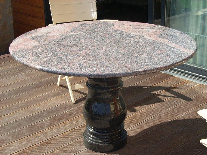 Tables et bureaux marbrerie d coration int rieur marbre charleville m zi re - Plateau de table en granit ...