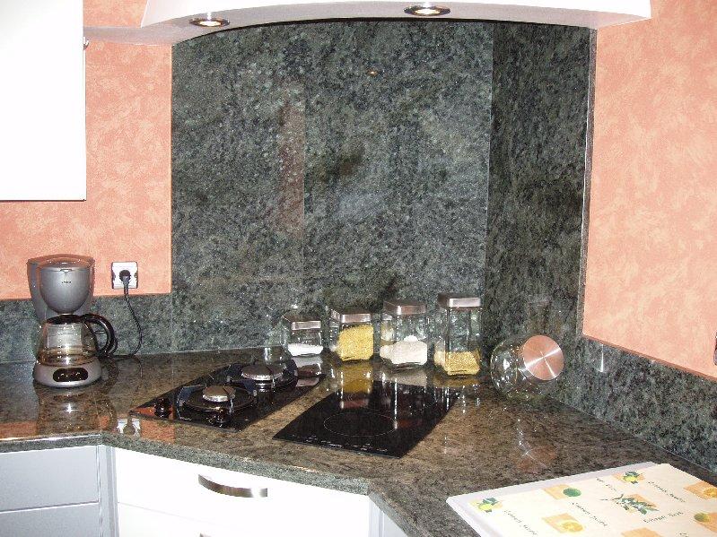 Cuisine marbrerie d coration int rieur marbre for Plan de travail 4 cm
